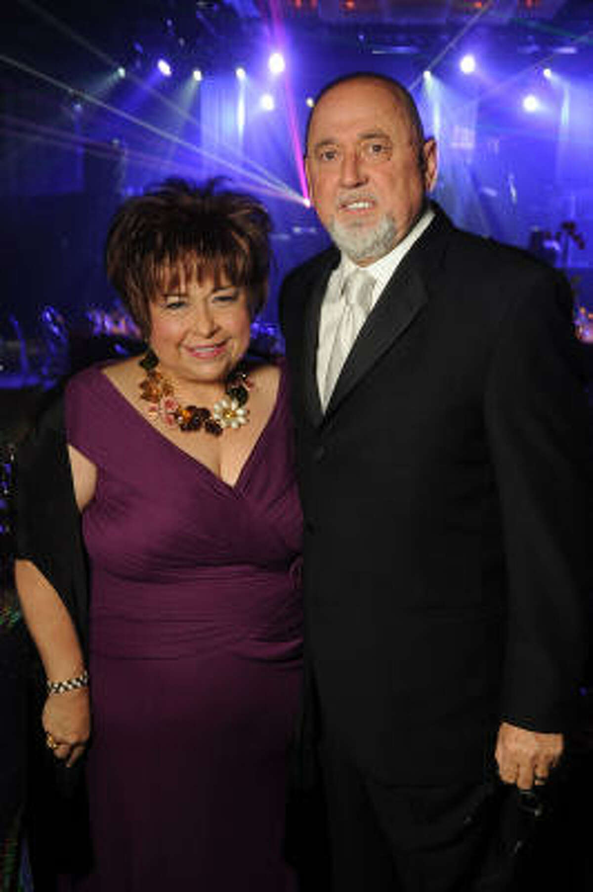 Honorees Trini Mendenhall Sosa and Frank Sosa
