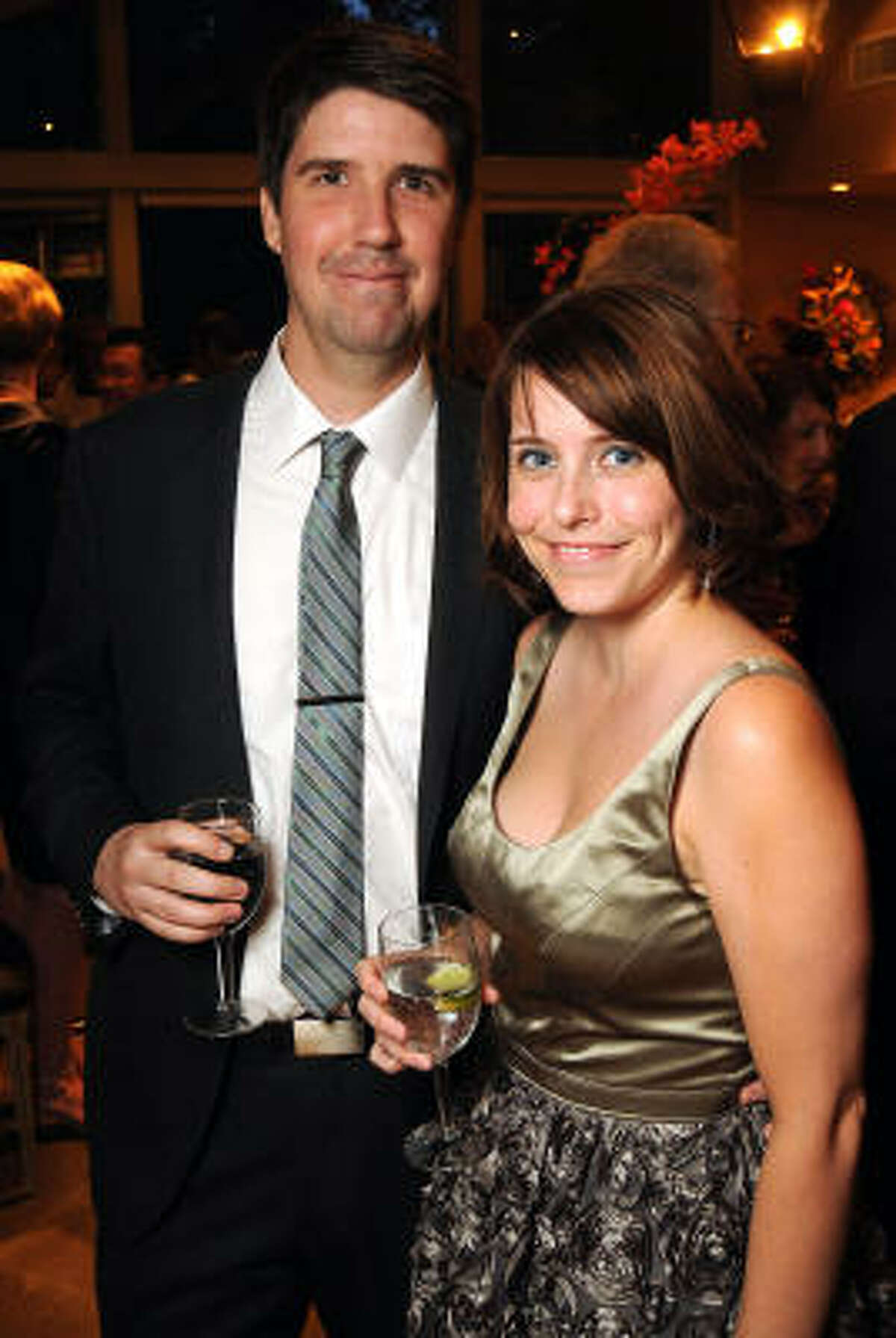 Ian Stansel and Sarah Strickley