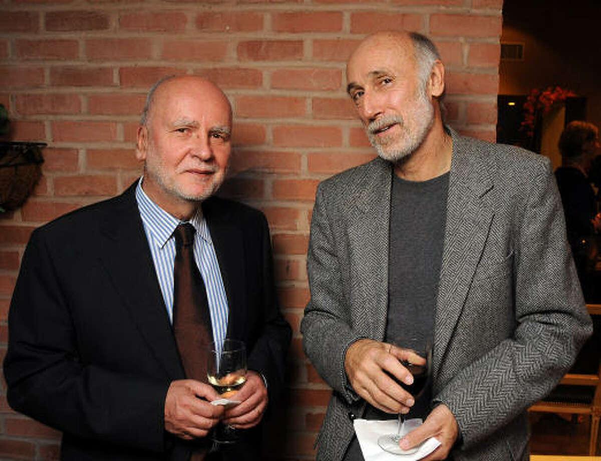 Poet Adam Zagajewski and J. Kastely