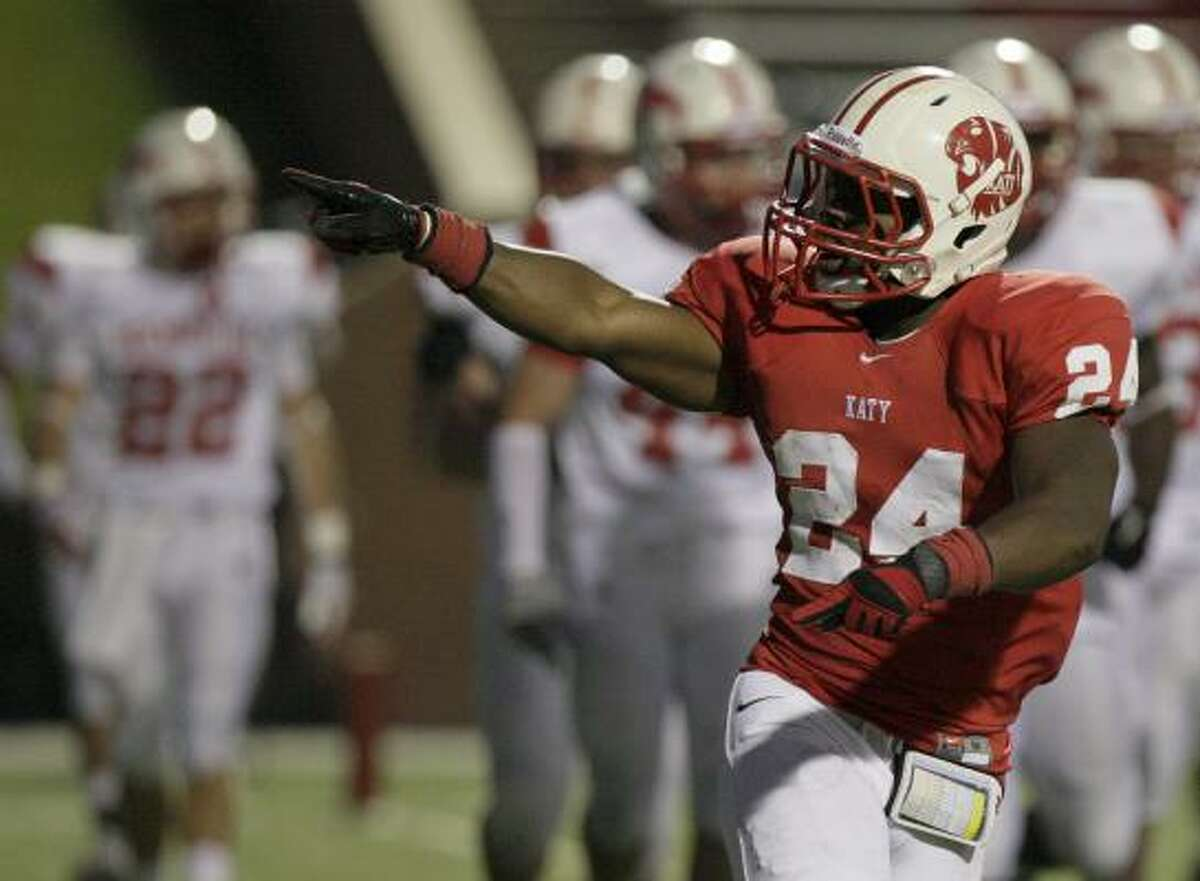 Katy 49, Memorial 28 Vernon Jeffries recorded a touchdown in the Tigers' win over the Mustangs.
