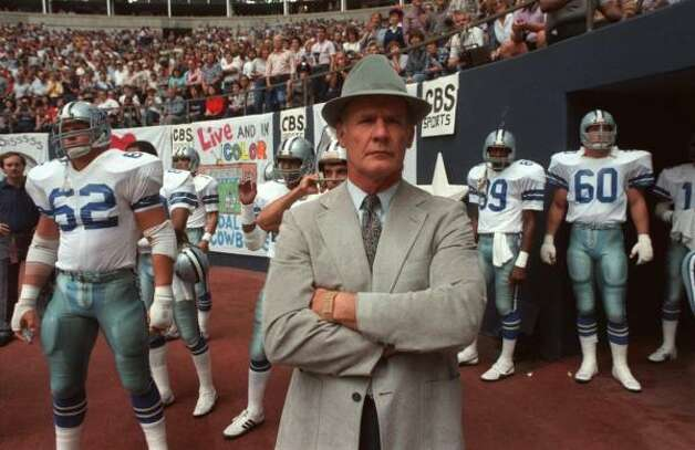 """The NFL's Man in the Hat: Tom Landry"" airs at 12:30 p.m. Saturday on CBS affiliates. Photo: DAVID WOO, KRT"