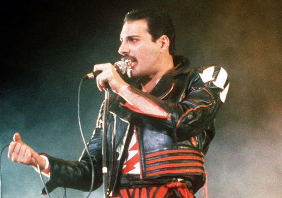 Artist:Freddie Mercury (Queen)  Hear a sample.  Agree or disagree? Tell us in the comments. Photo: GILL ALLEN, AP