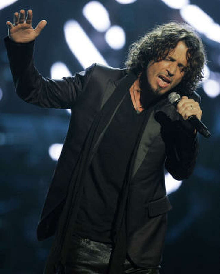 Rocker Chris Cornell will also be on hand.  Photo: Jeff Christensen, AP