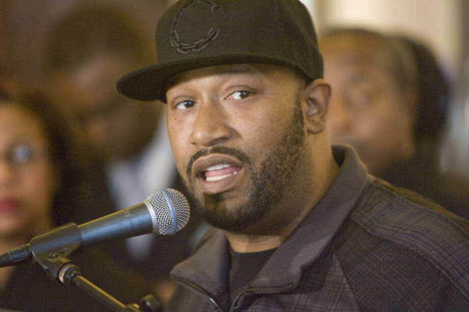Hip hop artist Bun B is preparing to teach a class at Rice University in the spring of 2011 on hip hop and religion. Photo: Steve Campbell, Houston Chronicle