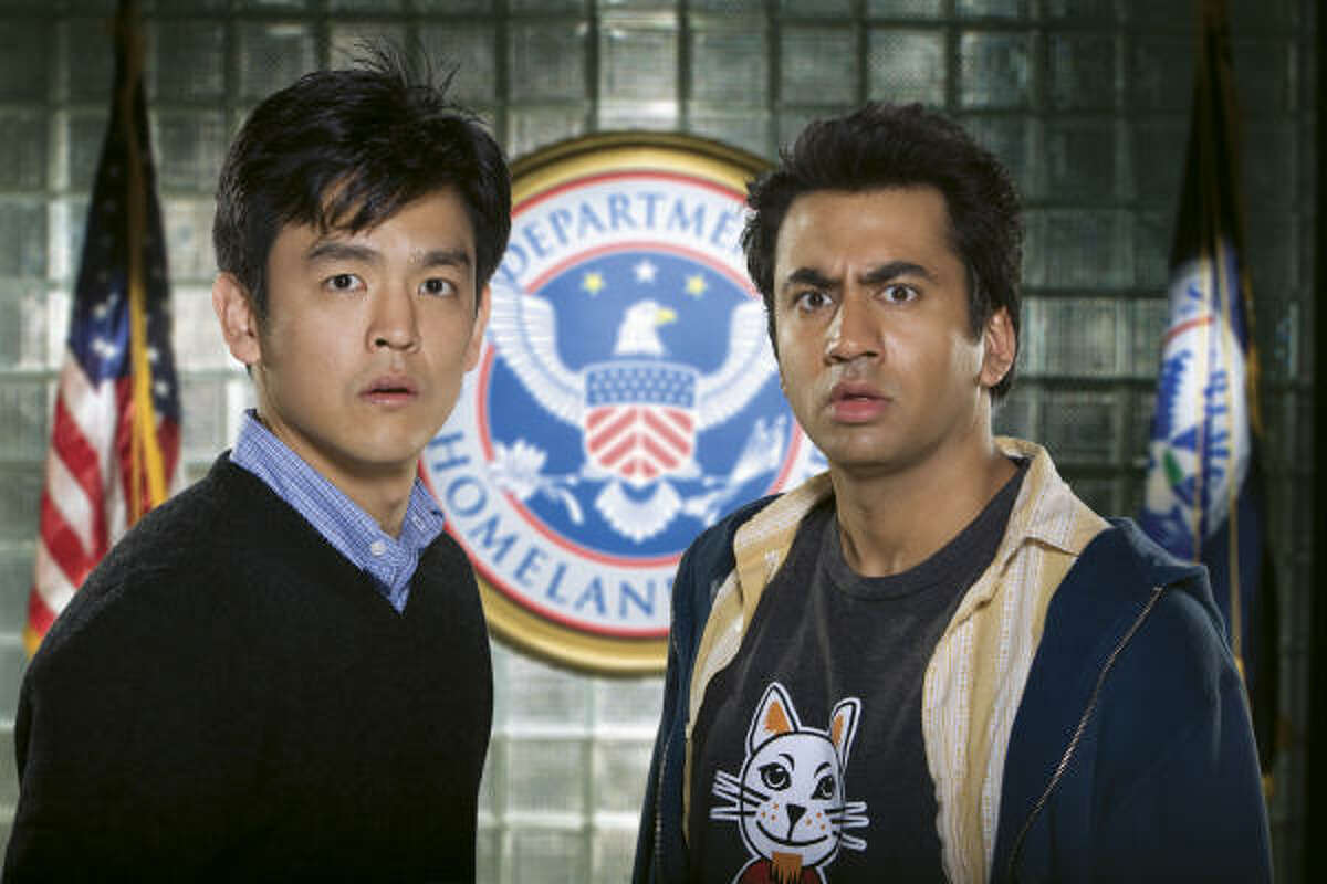 Though Harold didn't join him, Kumar went to the Ivy League. Kal Penn (right) taught