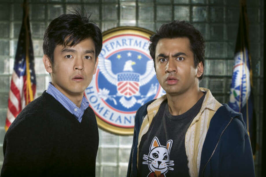"""Though Harold didn't join him, Kumar went to the Ivy League. Kal Penn (right) taught """"Images of Asian Americans in the Media,"""" and """"Contemporary American Teen Films"""" at the University of Pennsylvania. Photo: Jaimie Trueblood, New Line Cinema"""