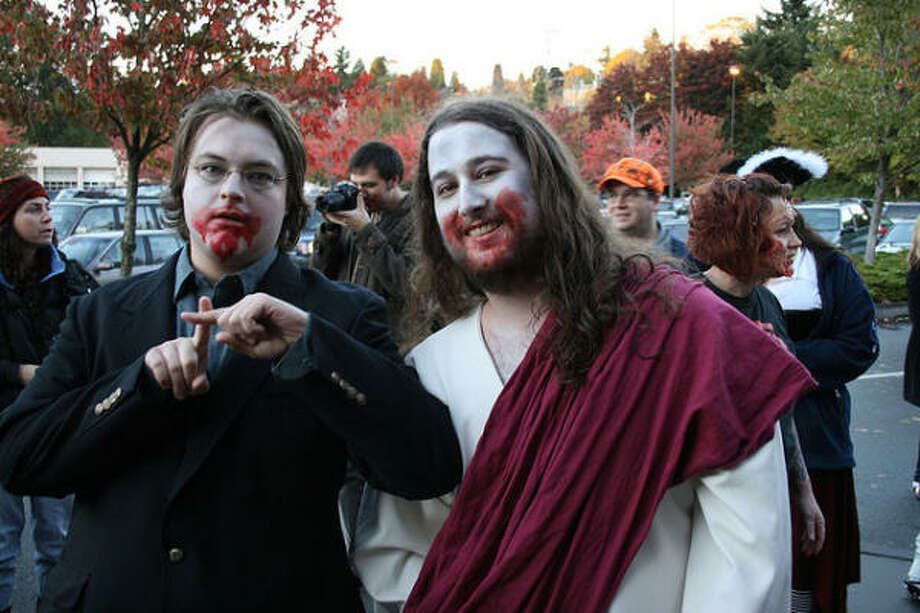 Zombie Jesus Photo: Bryan Gosline, Flickr