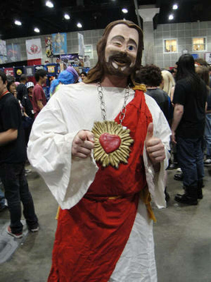 Masked Jesus Photo: Popculturegeek.com, Flickr