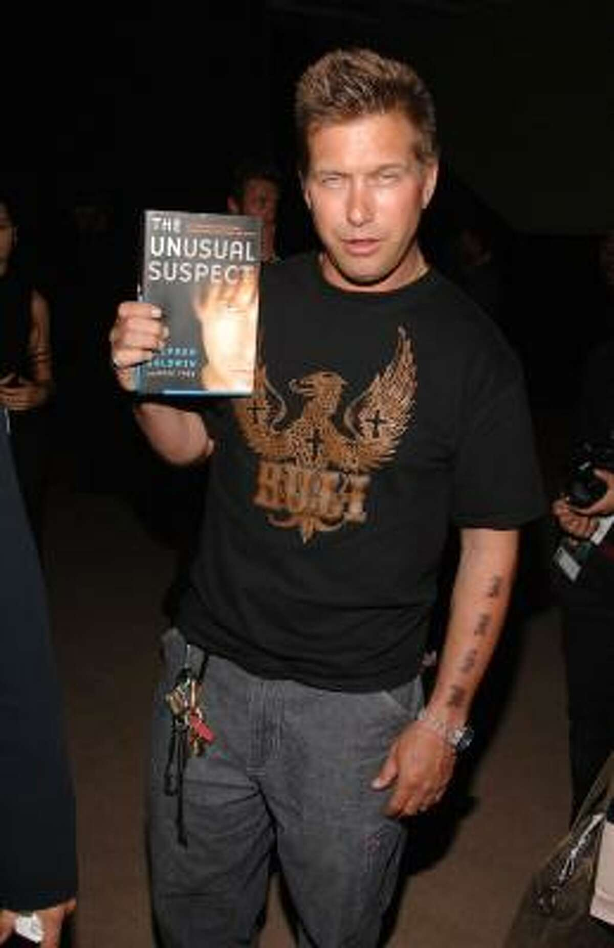 Stephen Baldwin The youngest Baldwin got baptized shortly after 9/11, with the encouragement of his born-again wife and housekeeper, he told The 700 Club. He now refuses to take roles in overly sexy or violent movies, which he says has made him bankrupt.