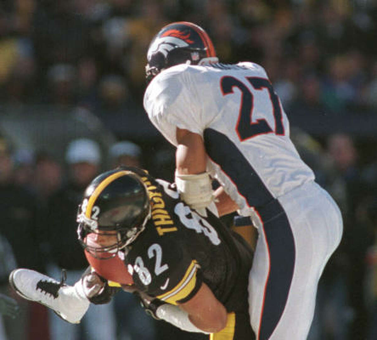 Steve Atwater, S, 1989-99 (Broncos, Jets) Atwater knocked many a receiver senseless in then-lethal AFC West.