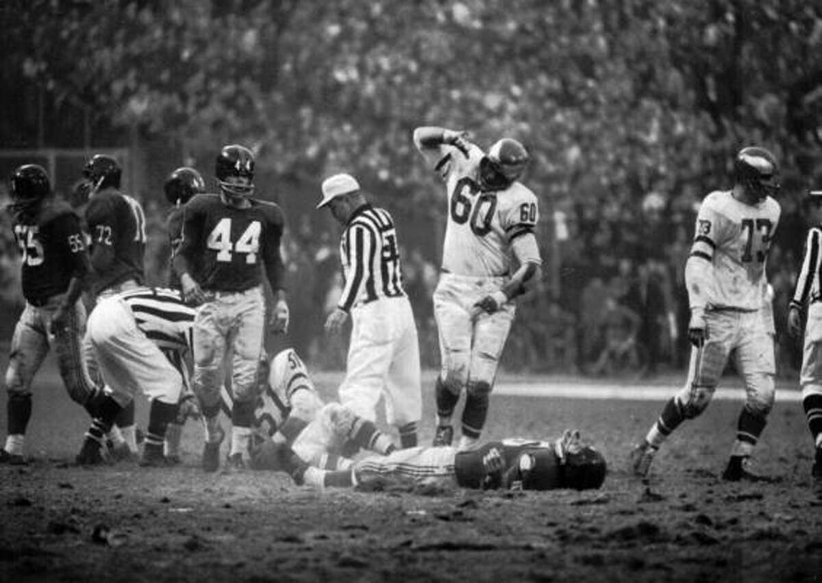 Chuck Bednarik, LB, 1949-62 (Eagles) They called the man