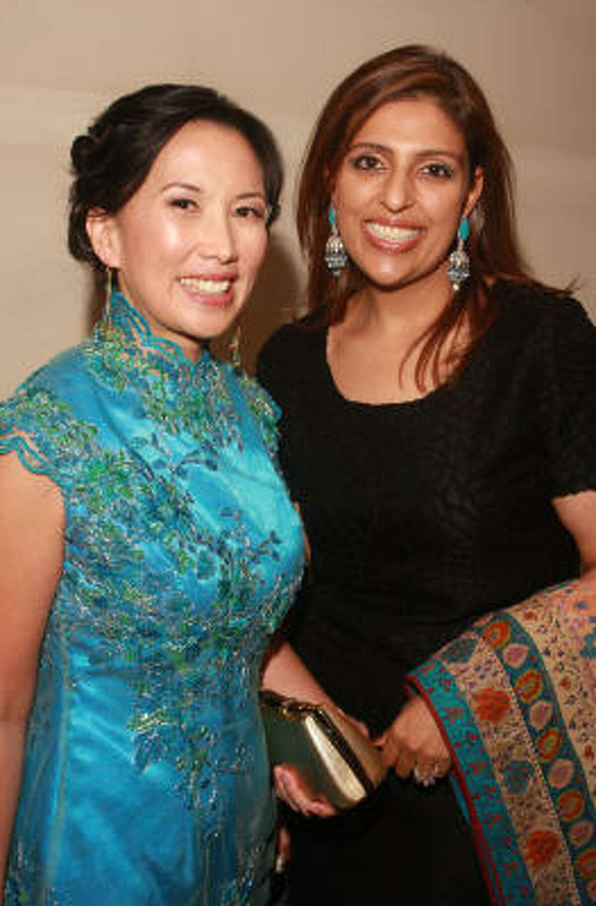 Christine Starkman, left, and Nidhika Mehta