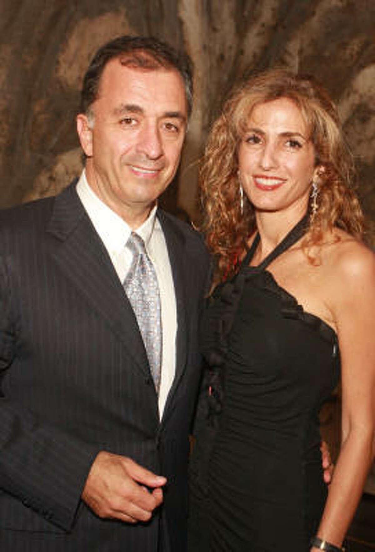 Masoud and Sima Ladjevardian