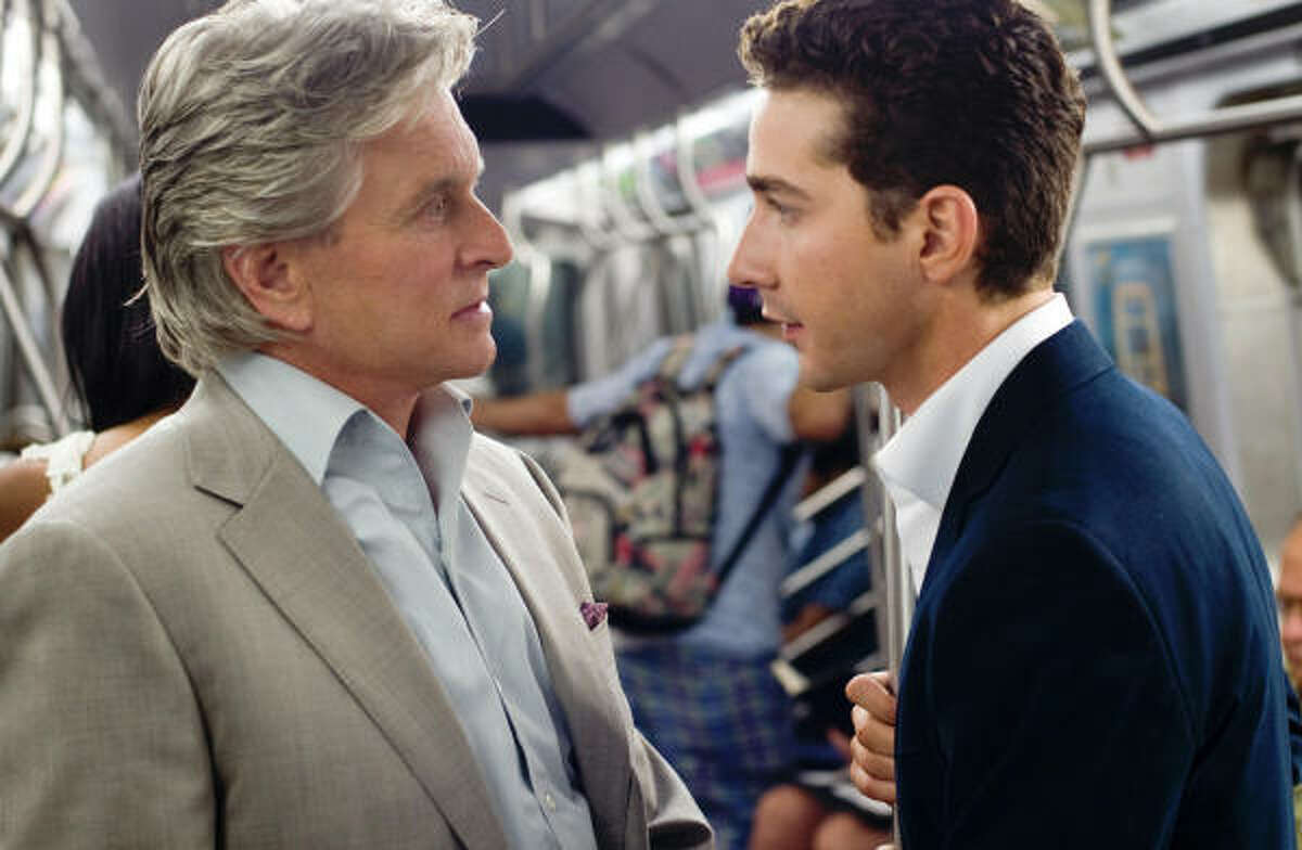 Wall Street 2: Money Never Sleeps, $2.4 million: Michael Douglas is back as Gordon Gekko in this sequel to the 1987 classic. Shia LaBeouf also stars.