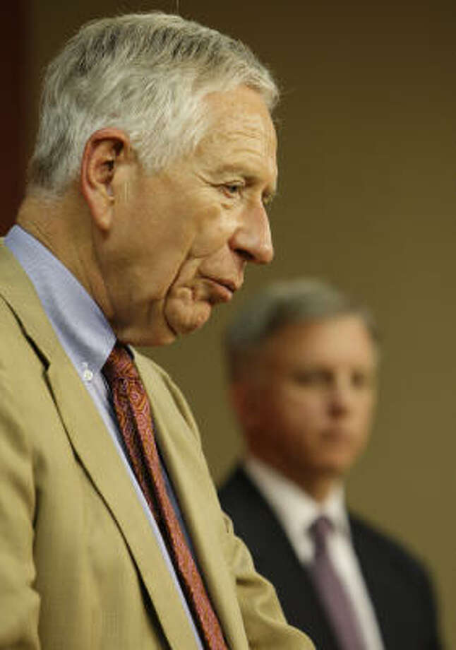Drayton McLane has owned the Astros since 1993, when he bought them for $117 million. Photo: Melissa Phillip, Chronicle