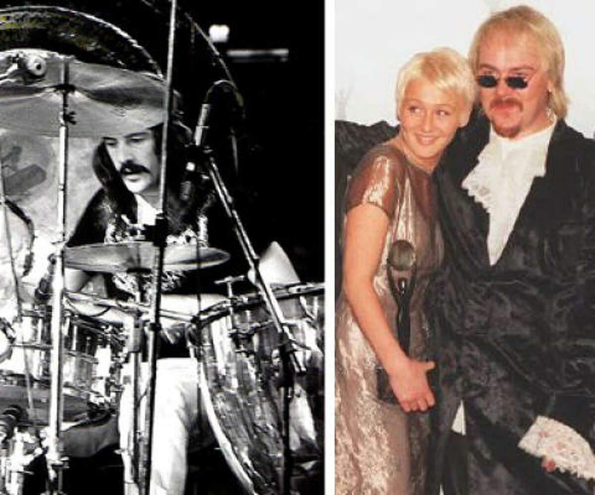 Jason Bonham (shown with sister Zoe) is doing a tribute tour to late father, Led Zeppelin drummer John Bonham. The tour stops in Houston on Nov 17. Flickr photo of John Bonham provided by Dina Regine.