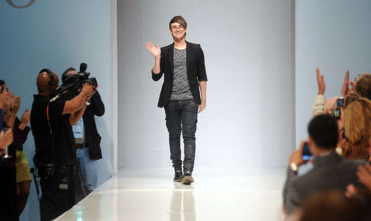 Christian Siriano, one of the most successful winners of Project Runway, brought his line to Houston during the first day of fashion week.