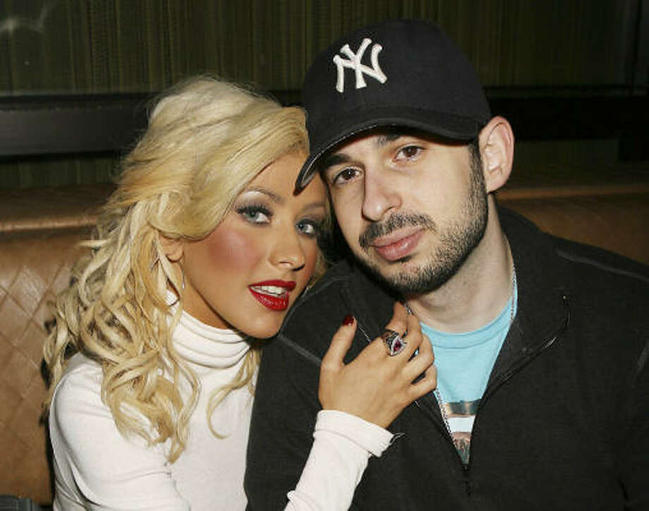Reports claim Christina Aguilera and her husband of five years, Jordan Bratman, have split. The couple has a son, Max. Photo: AP
