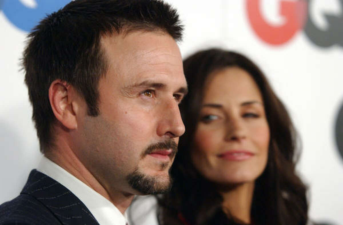 Hollywood 'It' couple David Arquette and Courtney Cox released a statement affirming their split. One day later, Arquette told Howard Stern the split was because of lack of sex and she was tired of 'mothering' him.