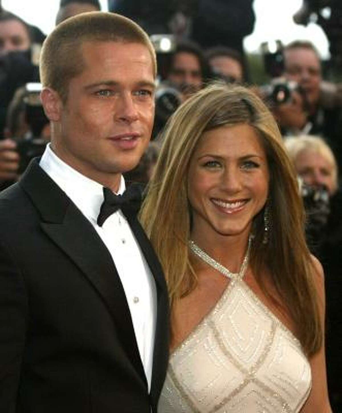 Things got out of control when Brad Pitt, left, and his former wife, Jennifer Aniston, split. Pitt went on to his relationship with Angelina Jolie, and t-shirts proclaiming