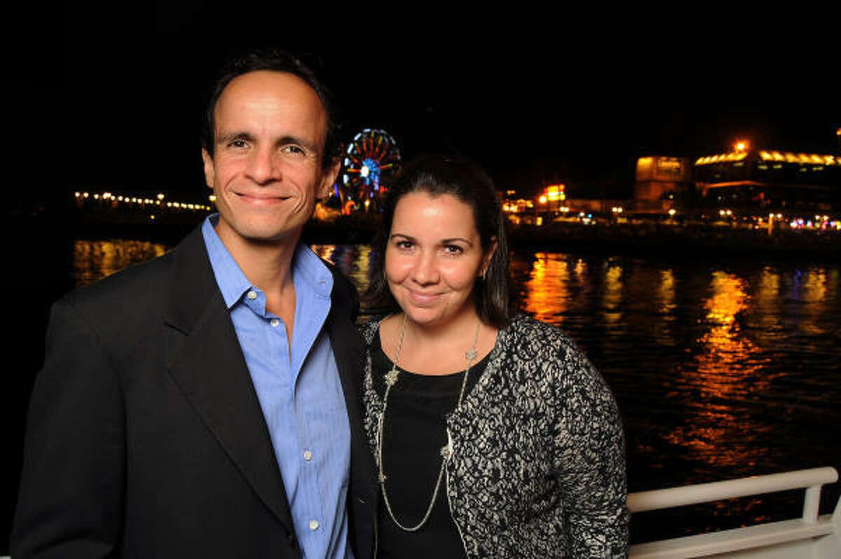 Alberto and Fernanda Caudillo