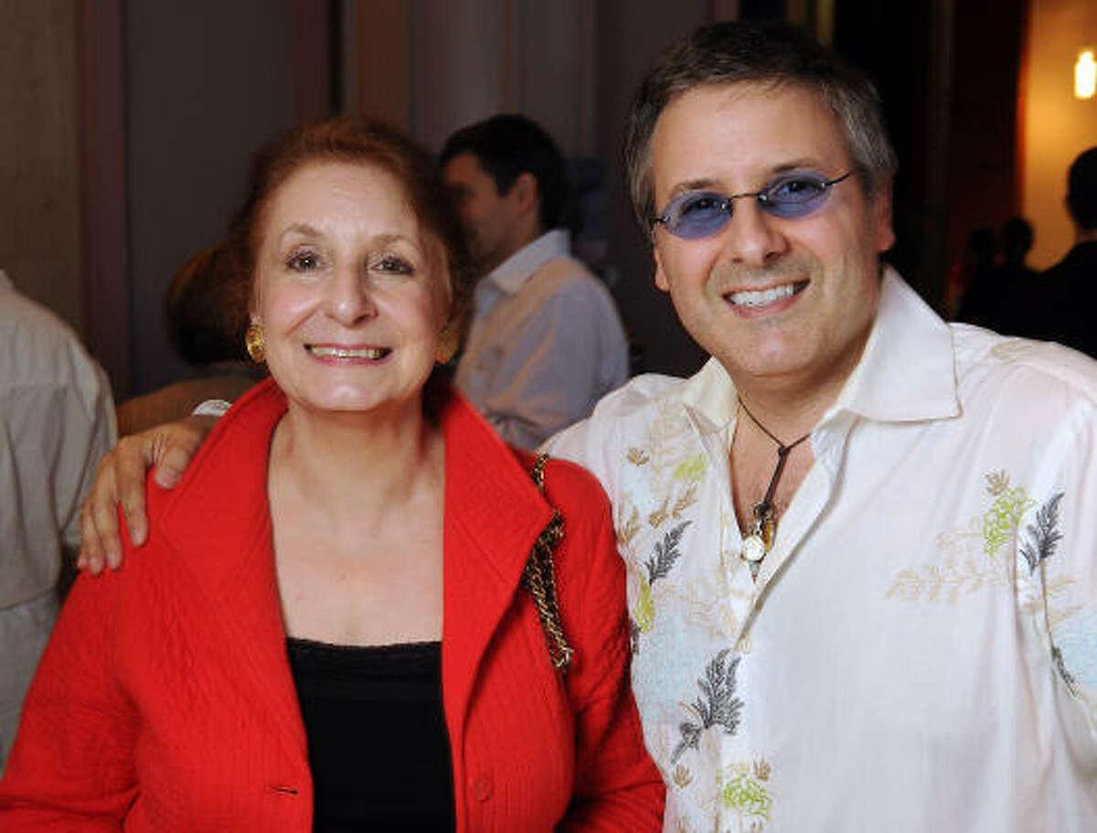 Adele Manouse and Ernie Manouse