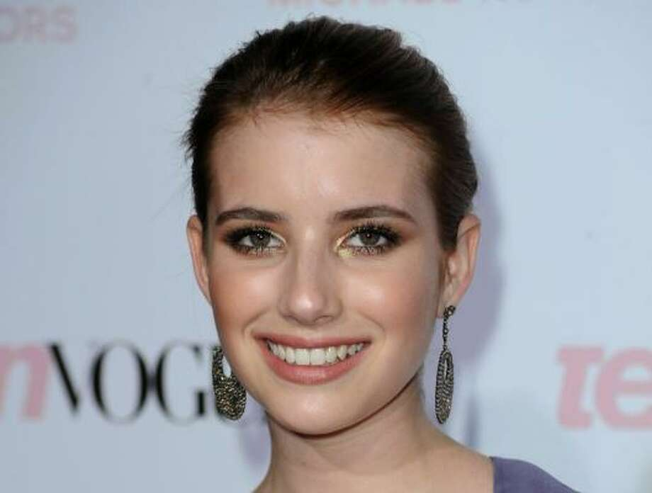 Emma Roberts, 19, starred with Johnny Depp and Penelope Cruz in Blow in 2001. The daughter of Eric Roberts, himself a child actor, Roberts has continued to act while avoiding the dark side of Hollywood. She stars in It's Kind of a Funny Story, which debuts today. Photo: Frazer Harrison, Getty Images