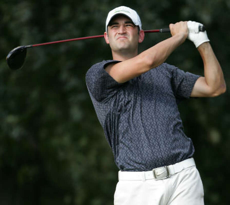 Justin Kaplan was the runner-up, finishing at 6-under 278. Photo: ERIC CHRISTIAN SMITH, For The Chronicle