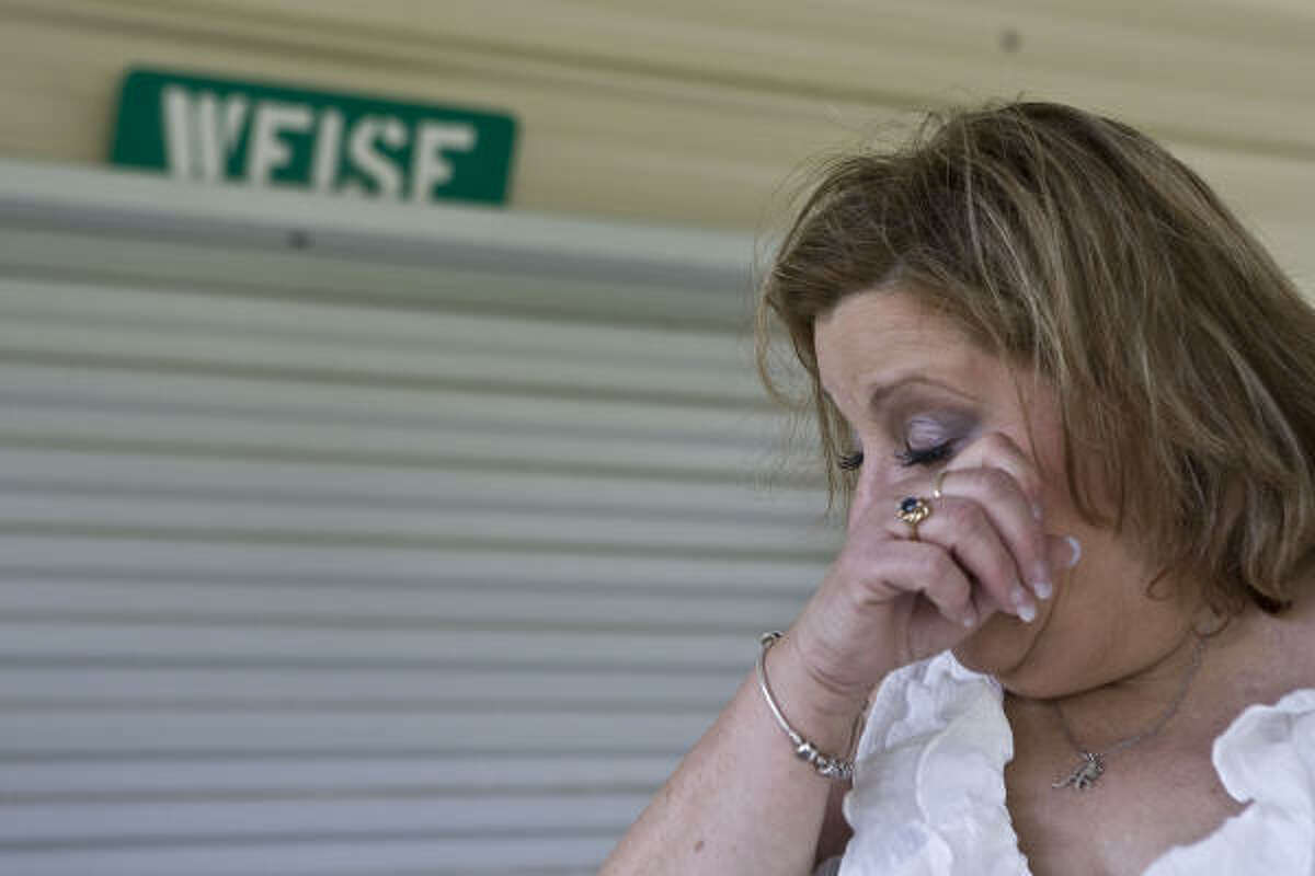 """Arleen Weise lost her youngest son, Adam, in the Deepwater Horizon drilling rig explosion. """"These last few days it has hit me that my son is never coming back to me,"""" she says."""