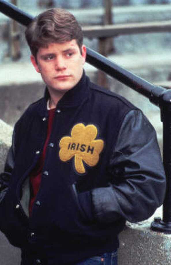 """""""Rudy"""" (1993)– In this fact-based drama about the triumph of the human spirit, scrawny high schooler Rudy Ruettiger (Sean Astin) dreams of playing football at Notre Dame. But his father (Ned Beatty) can't afford to send him, so he ends up at a college across the street instead. Undaunted, Rudy eventually transfers to Notre Dame, where he takes on duties assisting the groundskeeper (Charles S. Dutton) and joins the school's practice squad. Available June 1"""