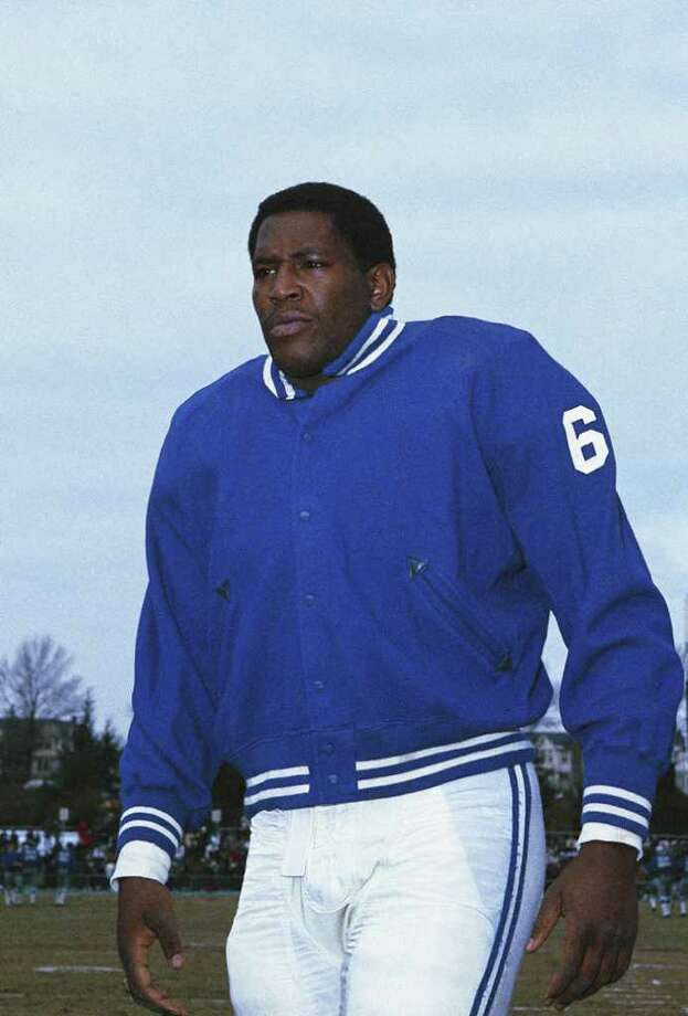 Beaumont native Bubba Smith was found dead in his Las Angeles home on Wednesday. Smith was known for his NFL and acting careers. (AP Photo) / Beaumont