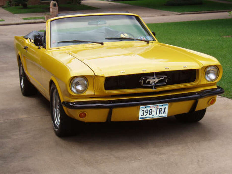Bob Olsen, who purchased his 1964½ Mustang convertible more than 16 years ago, completed it about two years ago. He changed the color from red to Ford Screaming Yellow paint.