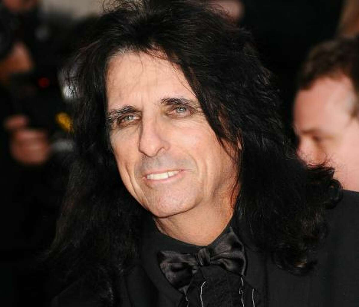Alice Cooper has been wearing makeup for decades.