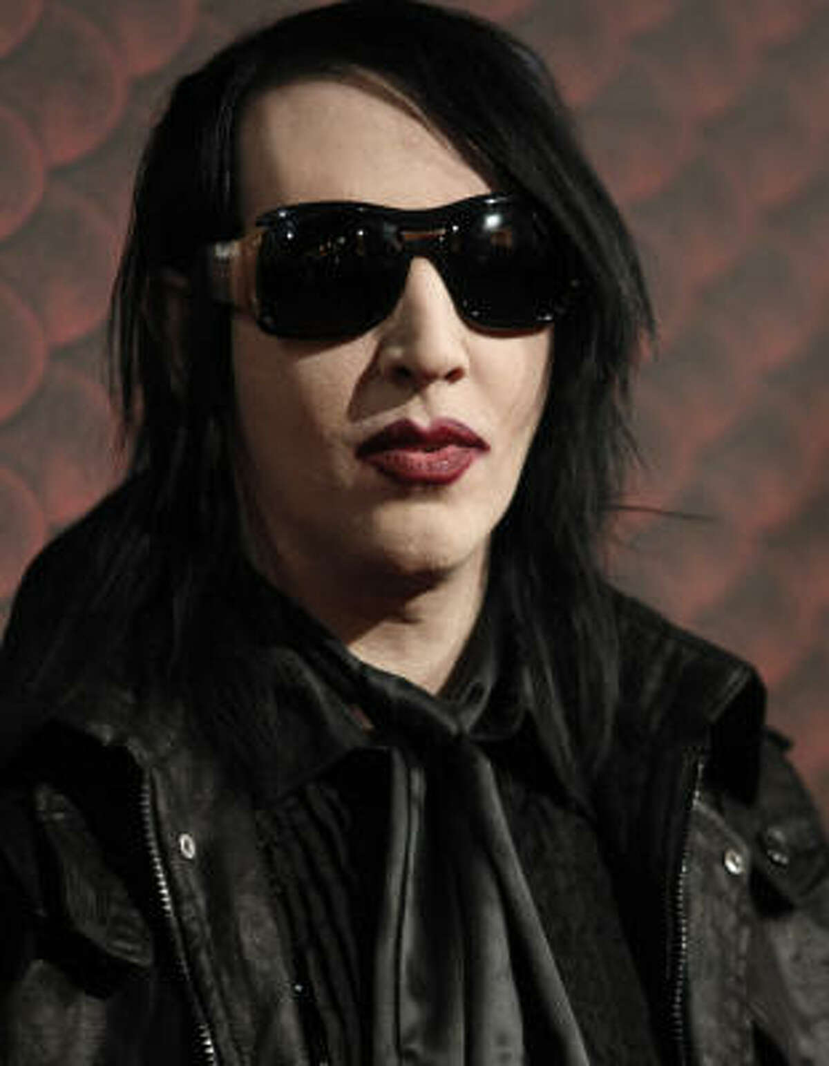 Marilyn Manson has been wearing makeup for so long, it's hard to imagine him without it.