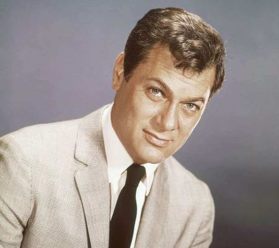 Actor Tony Curtis in 1965. He died Sept. 29, 2010, at his Las Vegas-area home of a cardiac arrest at age 85, according to the Clark County, Nevada, coroner. Photo: AP