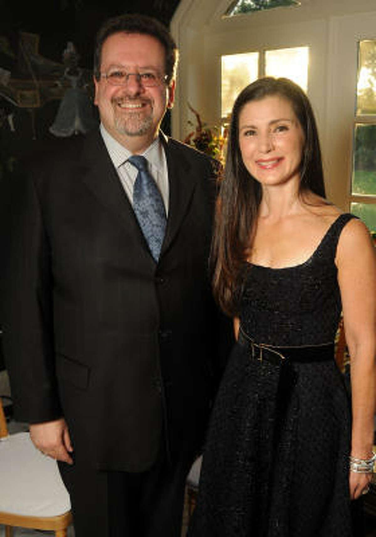 Anthony Freud and Cynthia Petrello