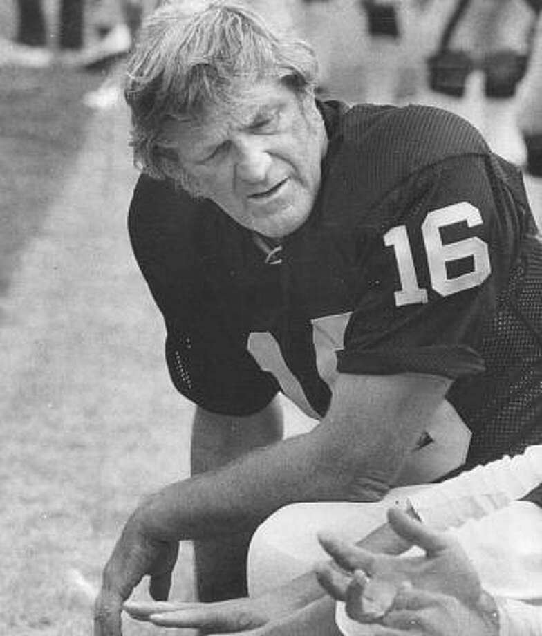 Hall of Famer George Blanda, the grizzled, often acerbic leader of the Houston Oilers teams that dominated the early American Football League, died Monday, Sept. 27, after a brief illness. He was 83. Photo: Courtesy Photo