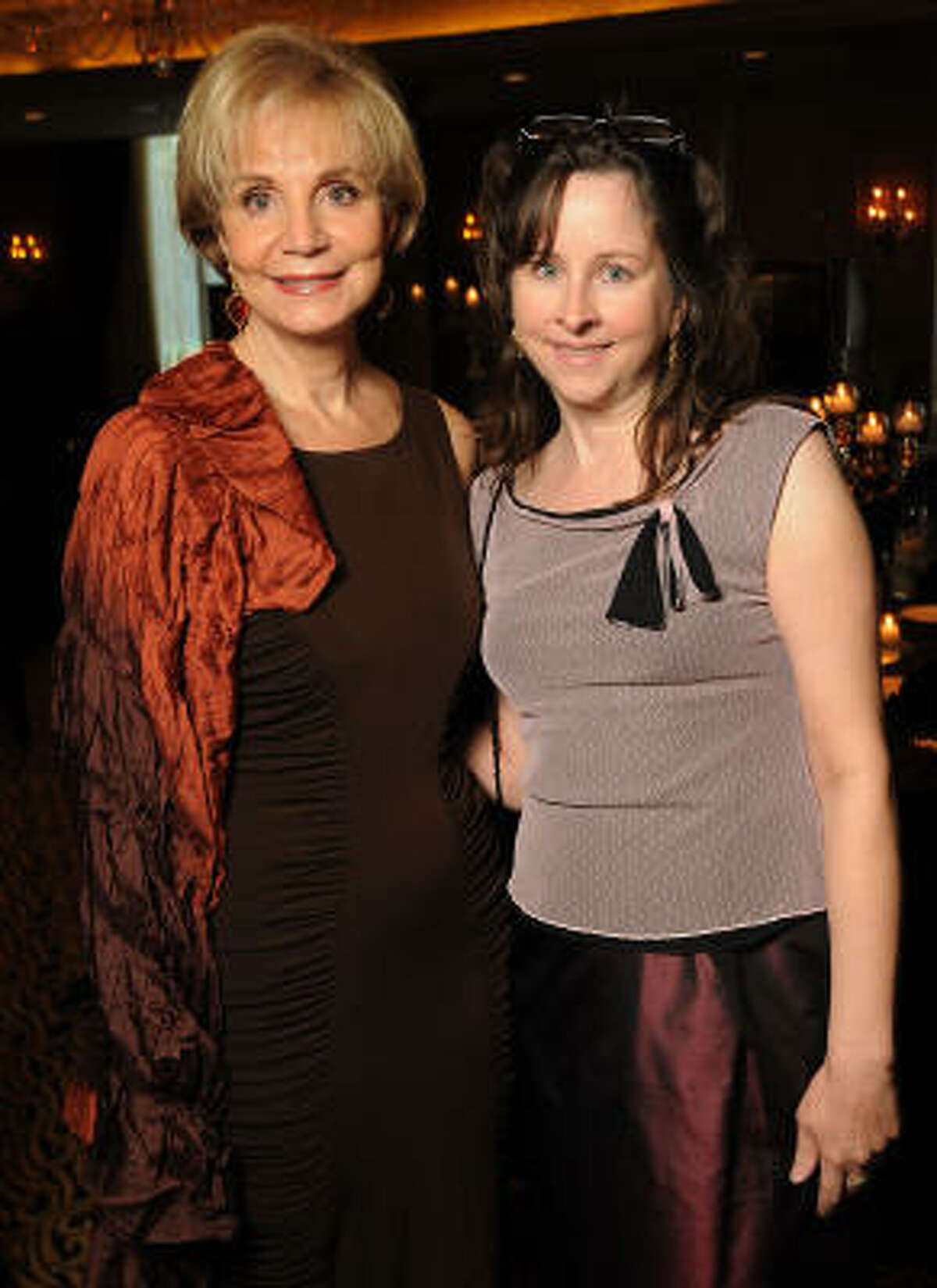 Leisa Holland-Nelson and Ruth Downes