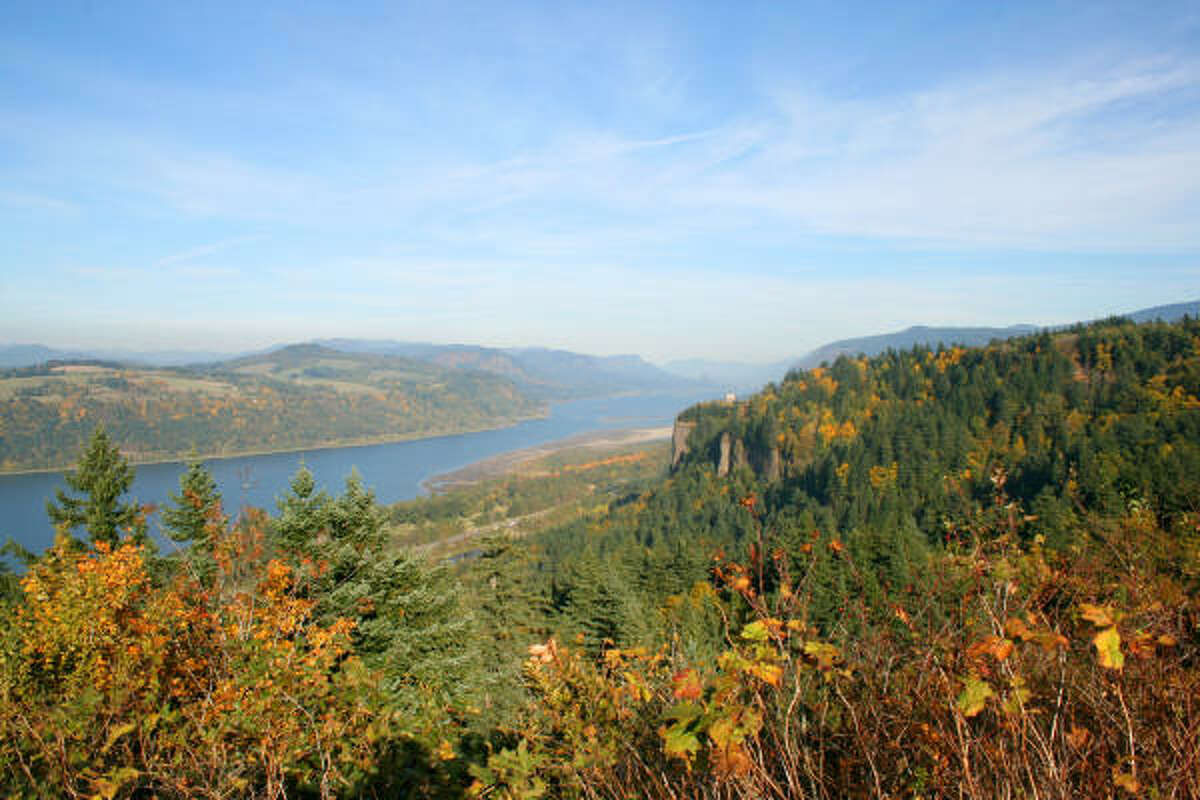 Number 3: Columbia River Gorge, Ore.