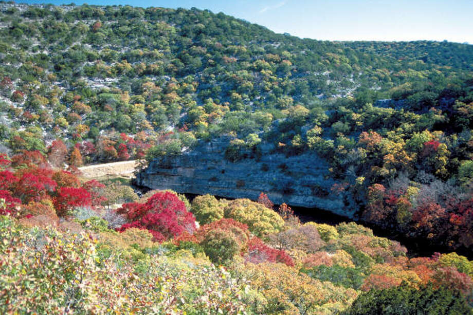 Number 8: Lost Maples State Natural Area, Texas  Photo: Earl Nottingham, Texas Parks And Wildlife