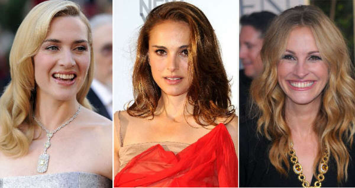 But increasingly actors and actresses are refusing to do nude scenes. Julia Roberts said she refuses to do nude scenes now that she's a mother. Natalie Portman doesn't want her pics floating around on the internet. And Kate Winslet says as she ages she just
