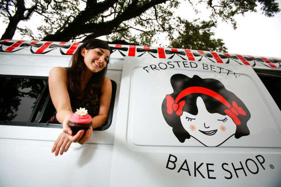 Nicole Mora, owner of Frosted Betty Bake Shop in Katy, is hoping to break into the Houston market. Photo: Nick De La Torre, Chronicle