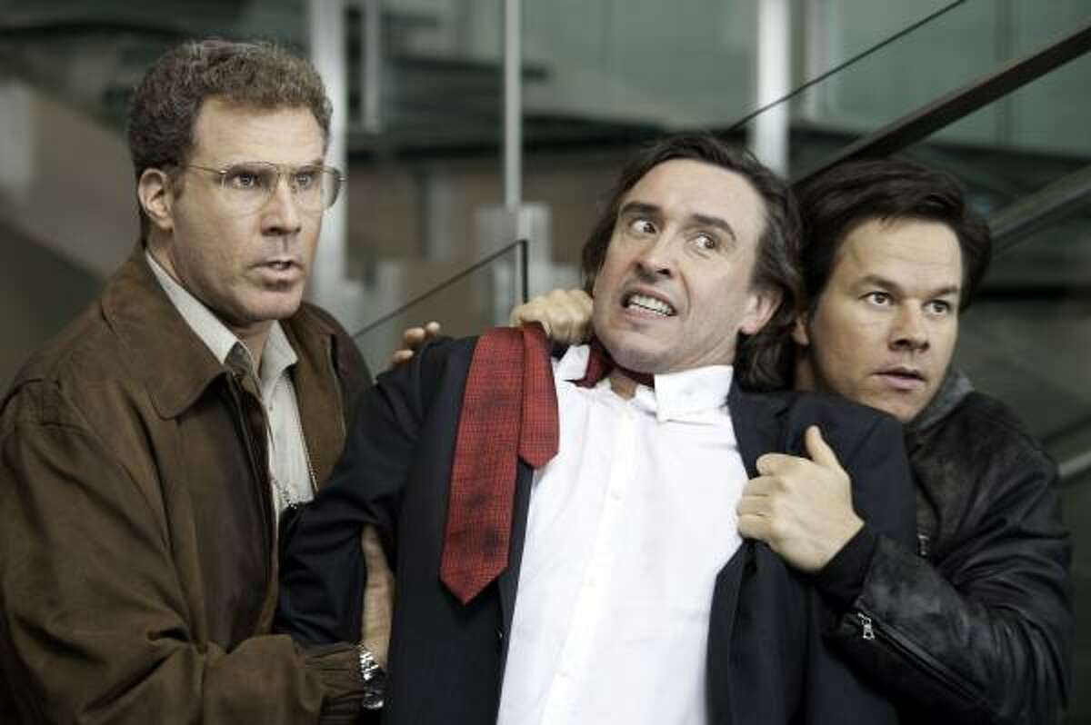 The Other Guys, $2 million: Will Ferrell, left, Steve Coogan and Mark Wahlberg star in flick about two mismatched New York City detectives who seize an opportunity to step up. But things don't go quite as planned.