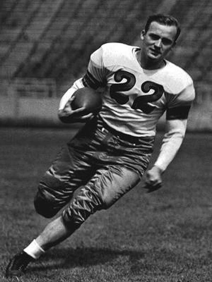 12. Les Horvath, QB, Ohio State, 1944He led the Buckeyes to an undefeated season, but two sophomores for Army — Glenn Davis and Doc Blanchard — finished second and third and had to wait to win their Heismans so the senior Horvath could win his. Photo: The Ohio State University