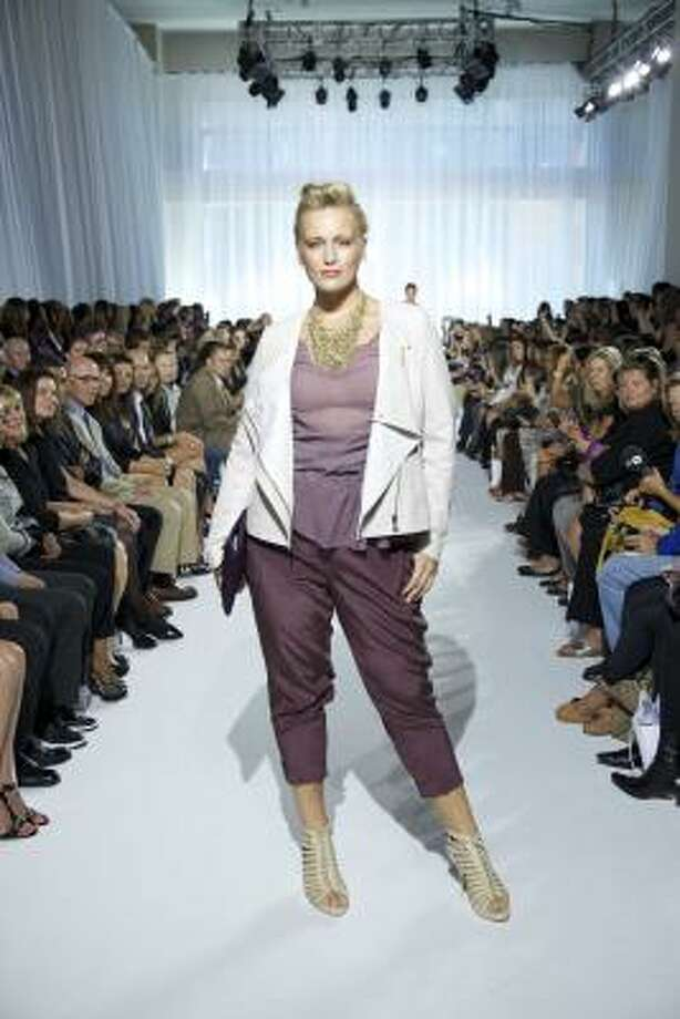 OneStopPlus.com presented looks for spring 2011 during Fashion Week in New York. Photo: AP