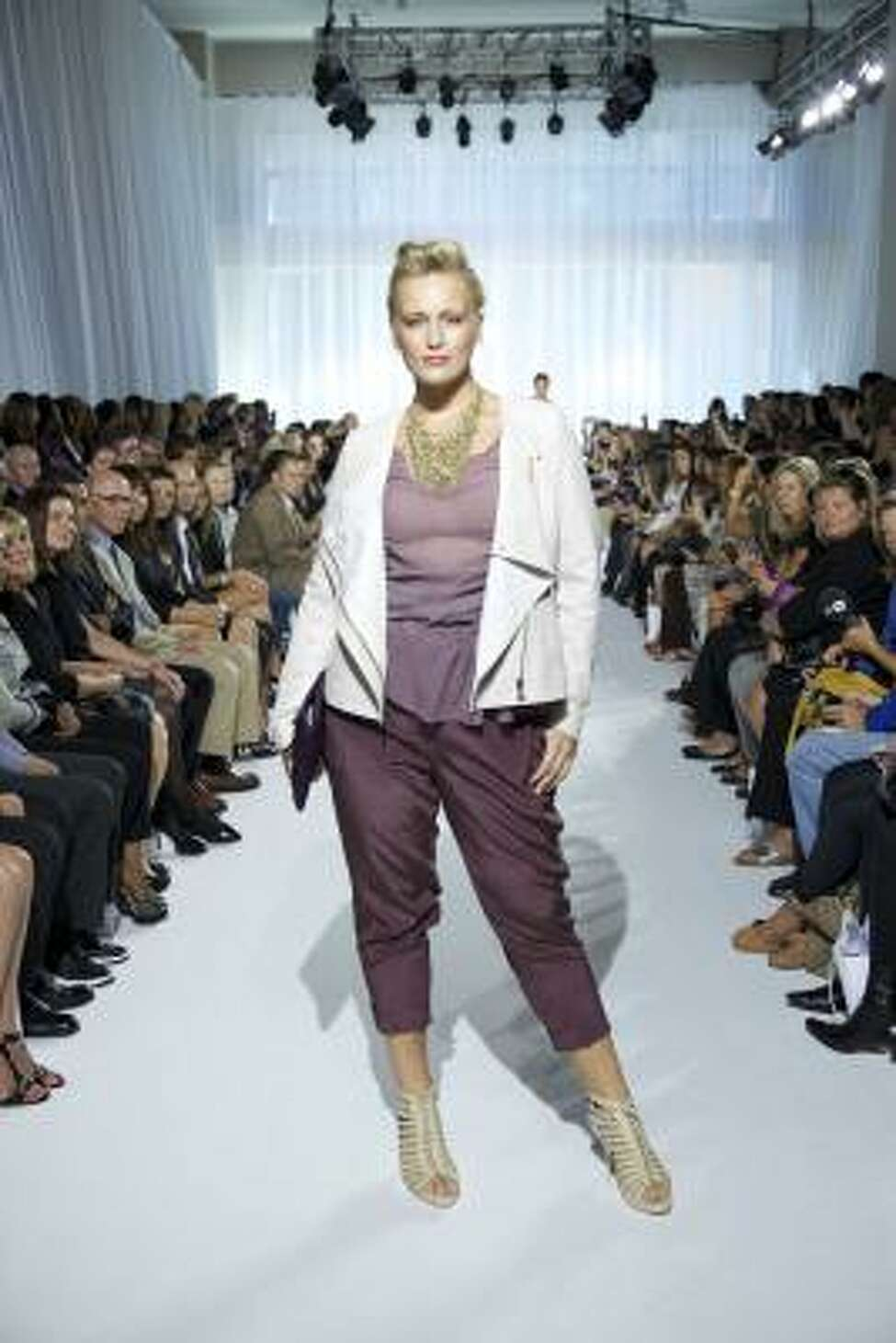 First Ever Plus Size Show At Ny Fashion Week