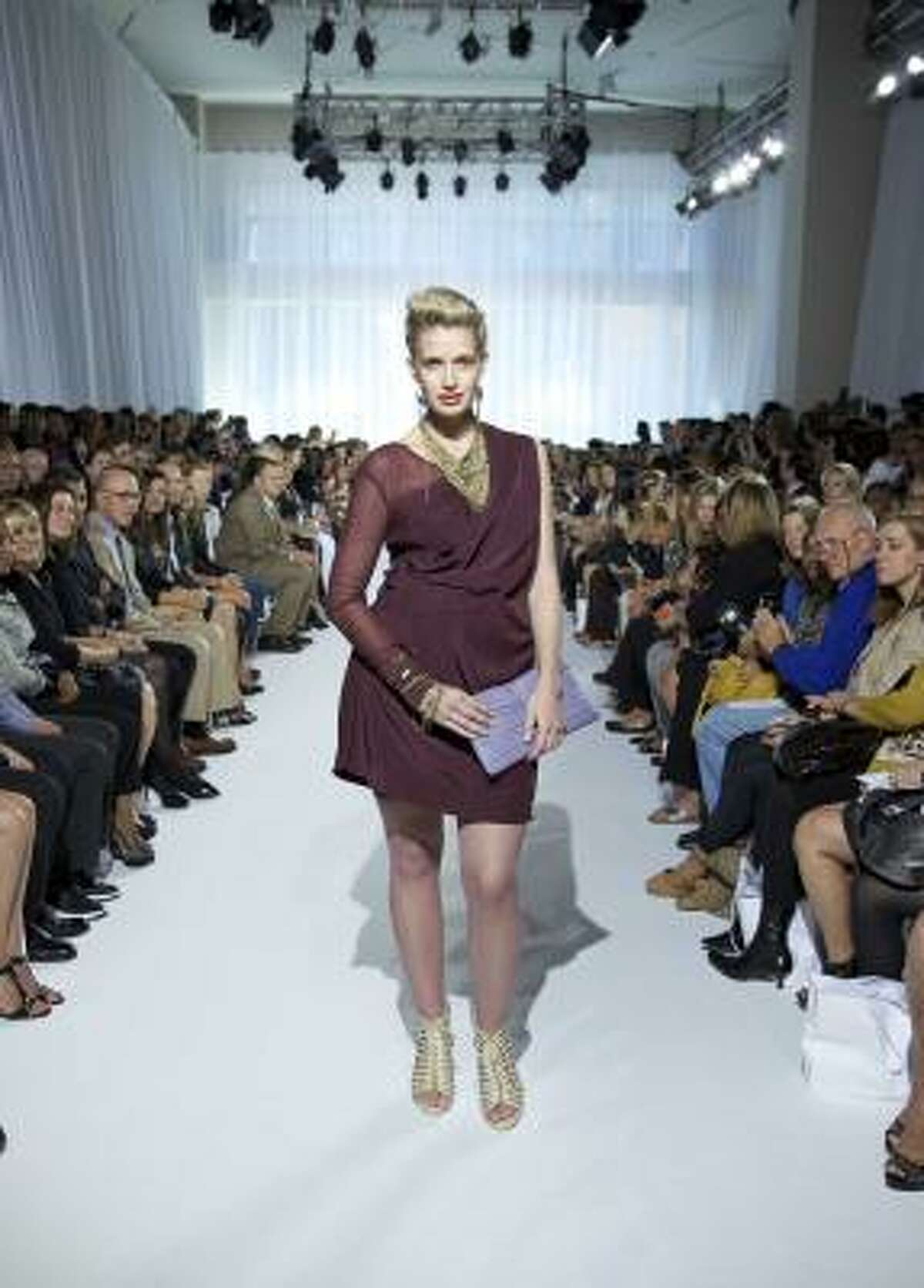 The OneStopPlus.com show was the first of its kind at Fashion Week.