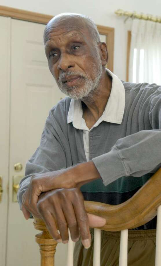 "Herbert Wright, who just turned 82, is a former Civil Rights leader and a high-profile member of the NAACP. He is a resident who will be featured Friday night at ""A Night of Gospel Music"" at Victory Christain Center in Danbury. Photo: Carol Kaliff / The News-Times"