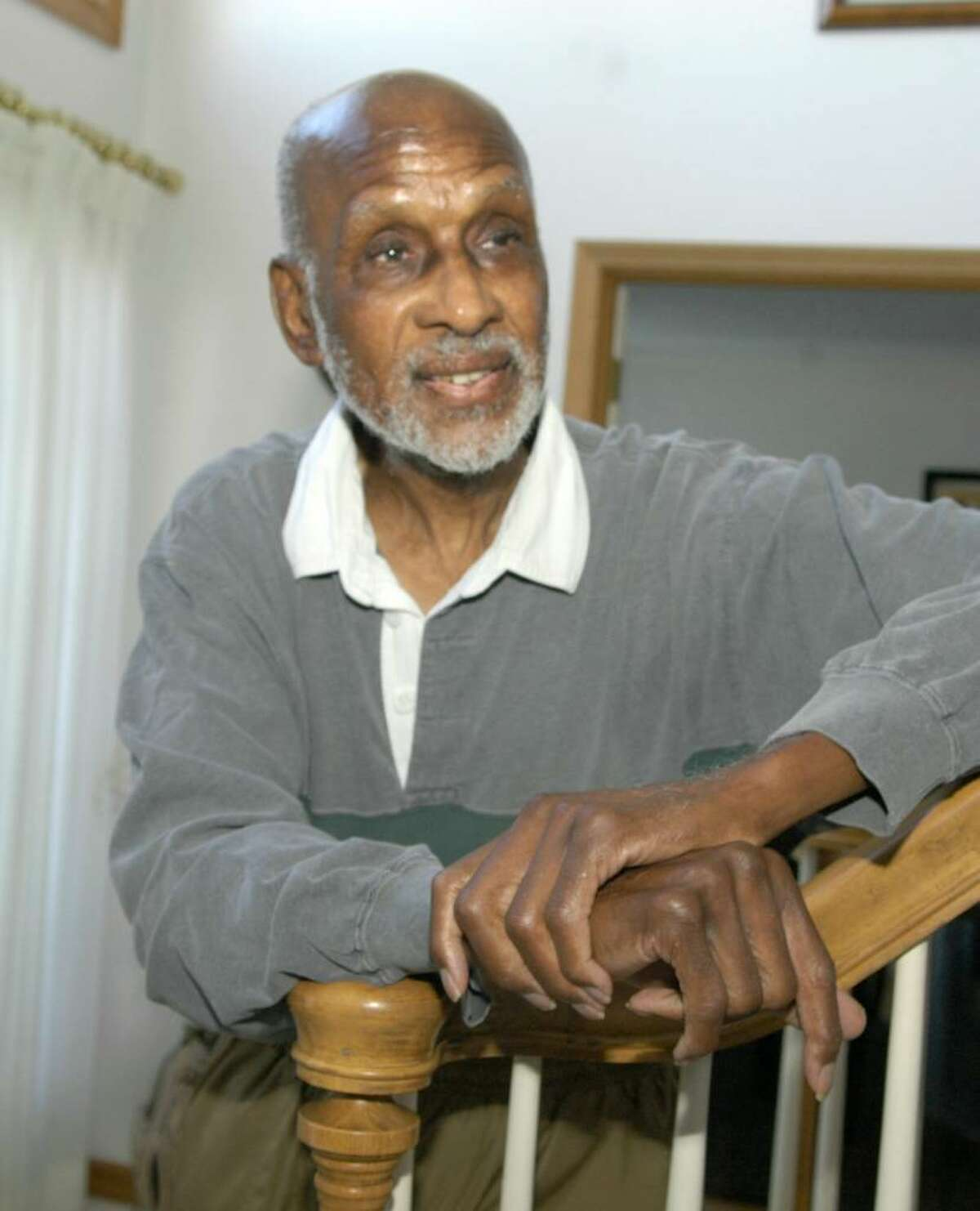 """Herbert Wright, who just turned 82, is a former Civil Rights leader and a high-profile member of the NAACP. He is a resident who will be featured Friday night at """"A Night of Gospel Music"""" at Victory Christain Center in Danbury."""