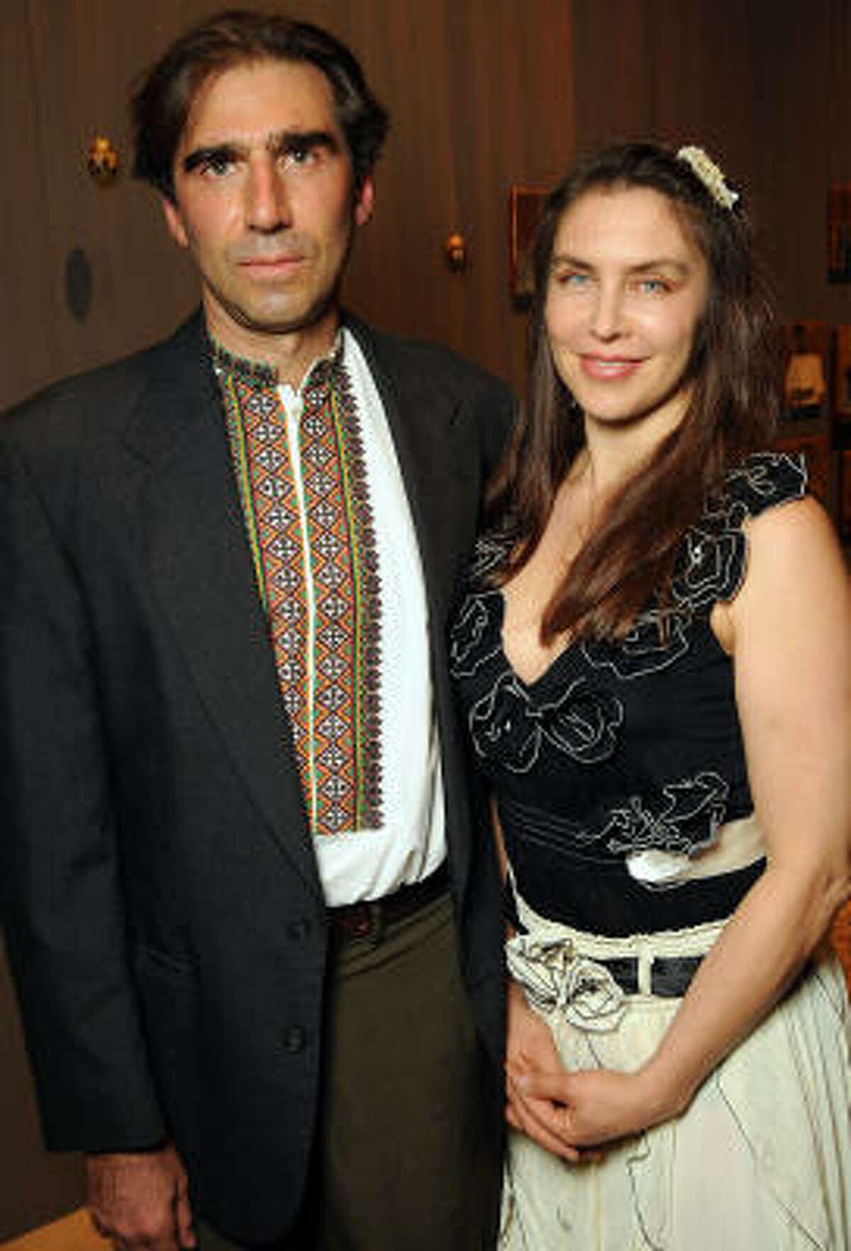 Nestor Topchy and Mariana Lemesoff